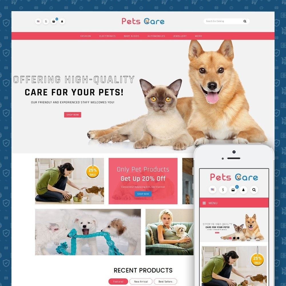 Pets Care - Animals Store