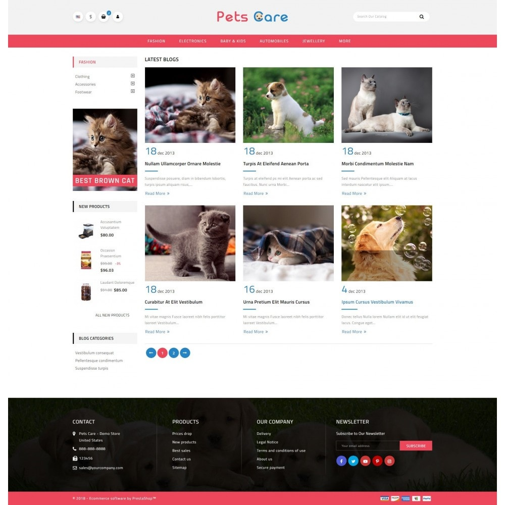 theme - Animais - Pets Care - Animals Store - 10
