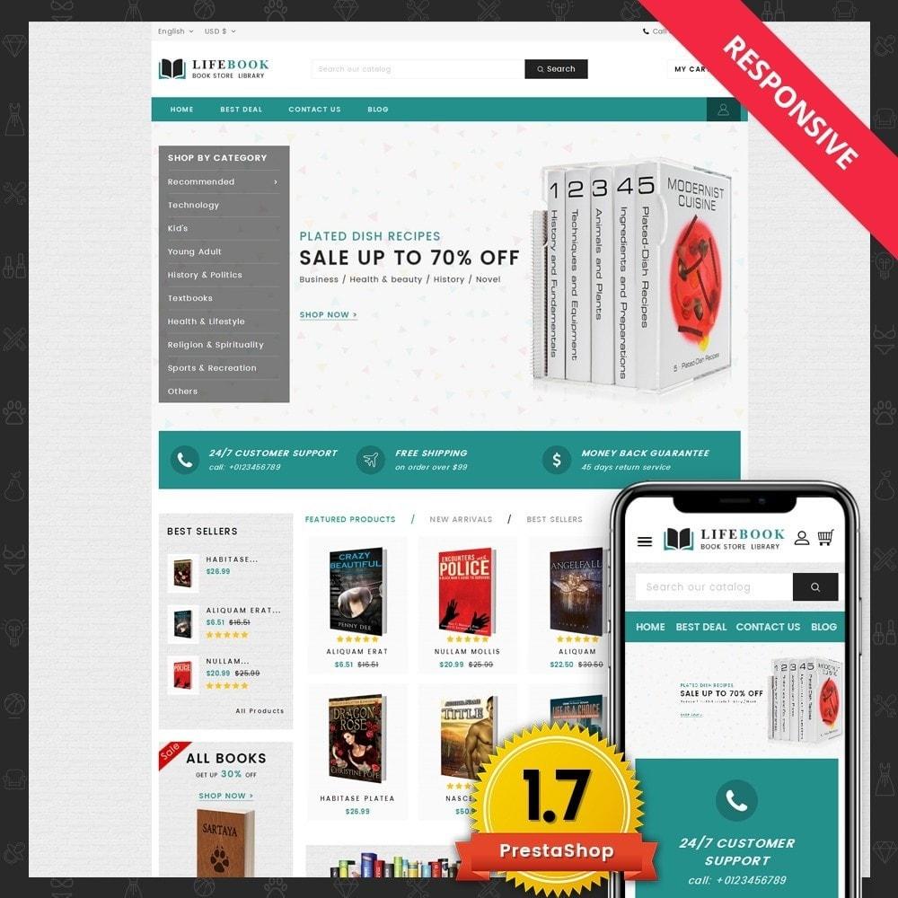 theme - Arte e Cultura - Books Store - 1