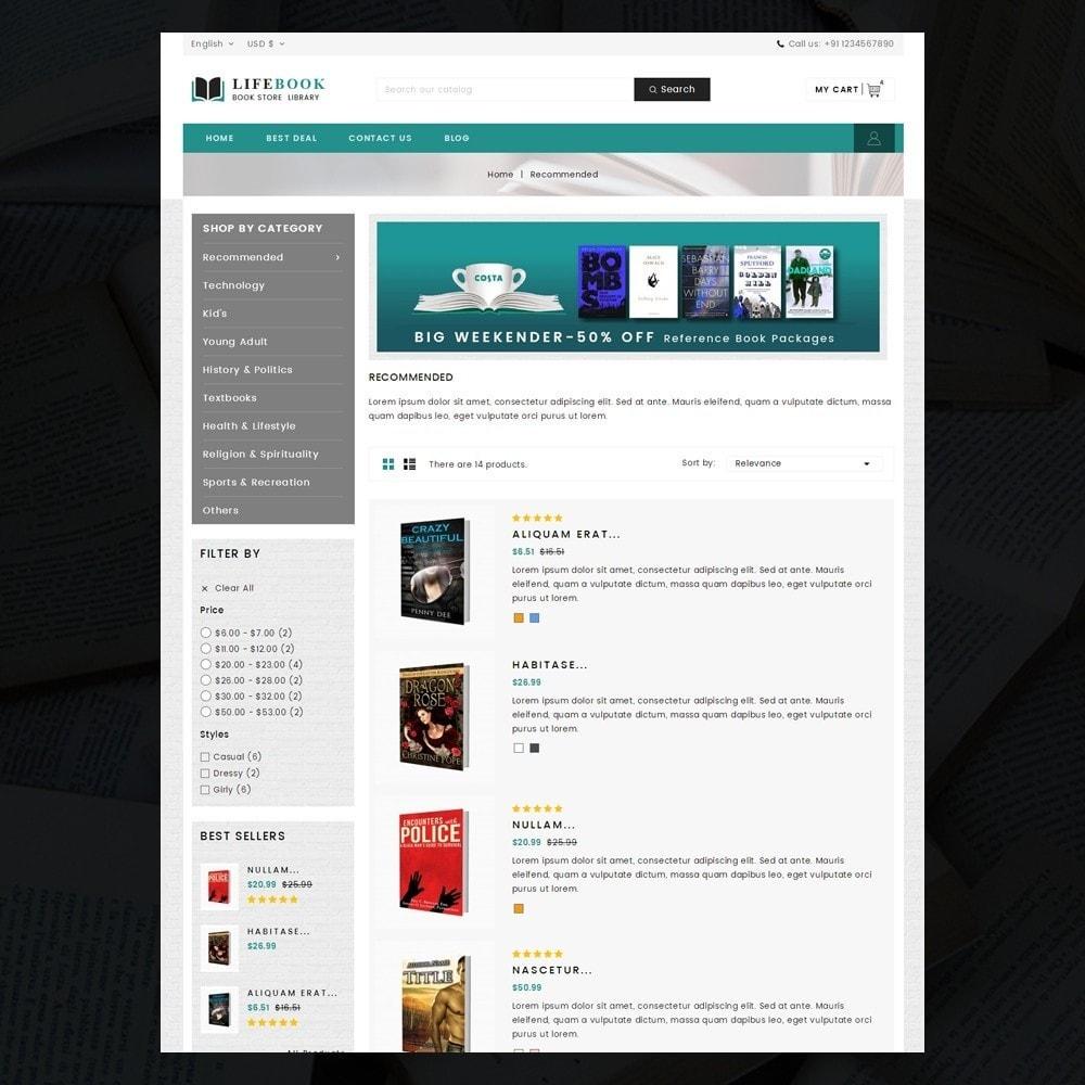 theme - Arte e Cultura - Books Store - 4