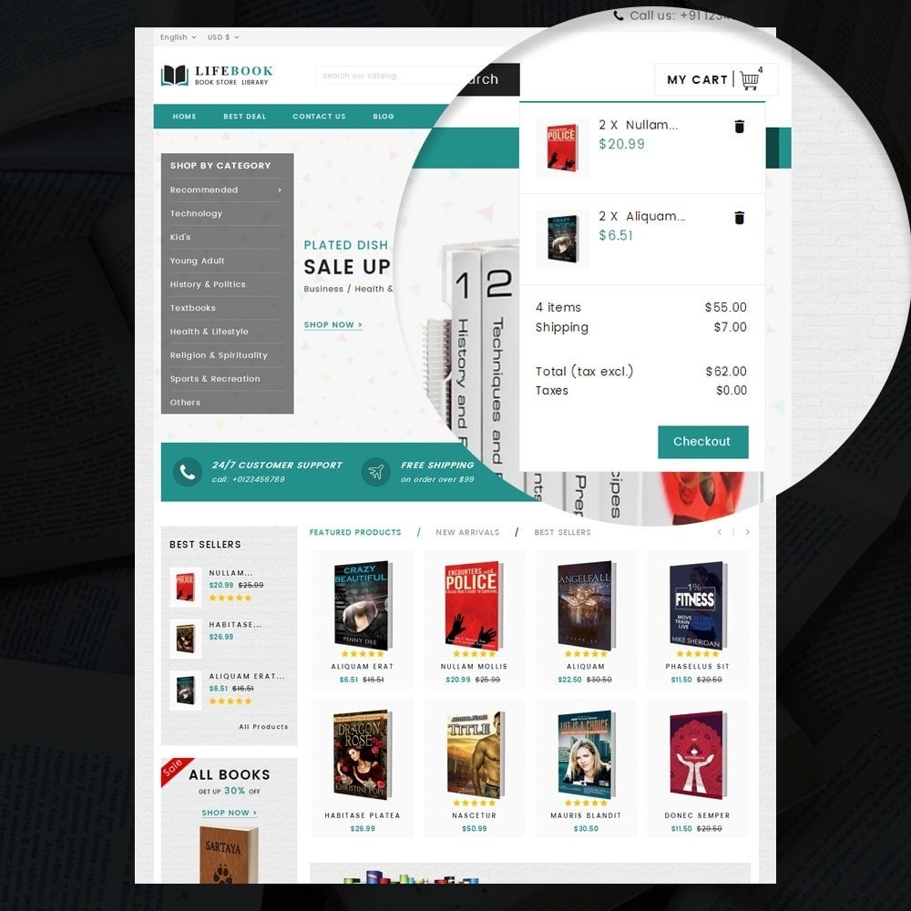 theme - Arte e Cultura - Books Store - 8