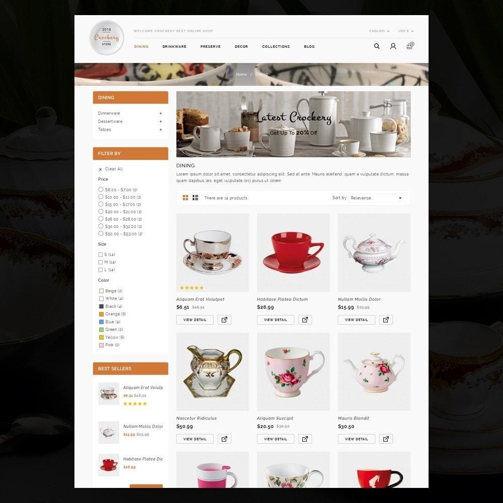 theme - Home & Garden - Kitchen Crockery Store - 3