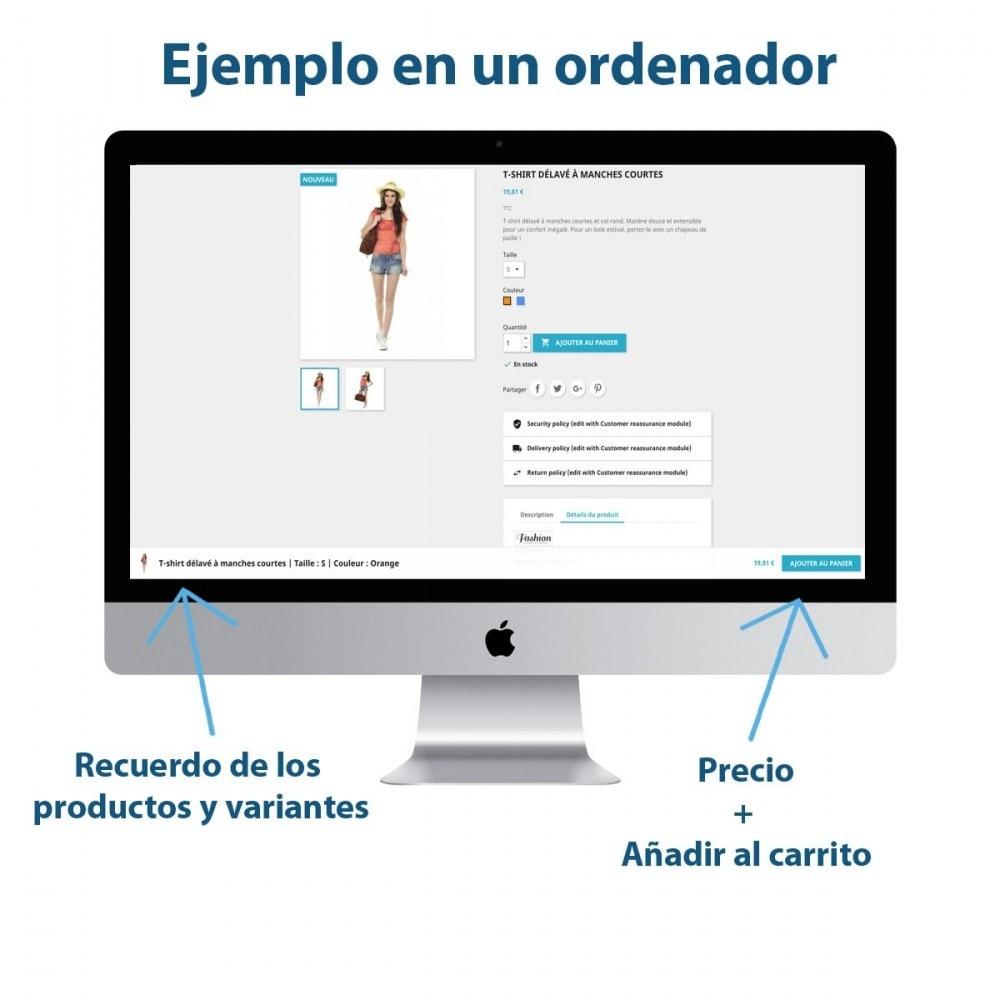 module - Inscripción y Proceso del pedido - Sticky Botón Añadir al Carrito en Páginas Producto - 1