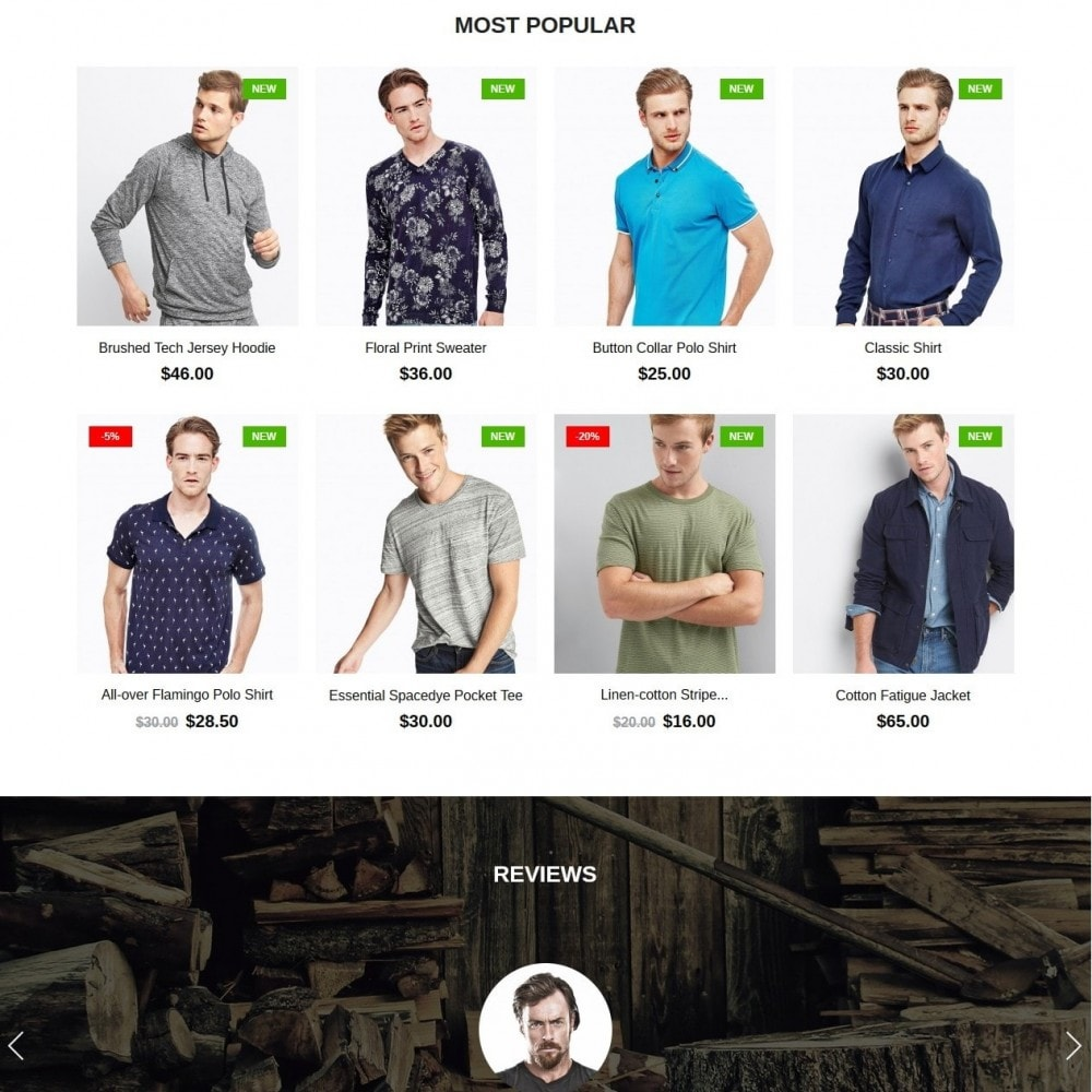 theme - Mode & Schoenen - Lumberjack Men's Wear - 3