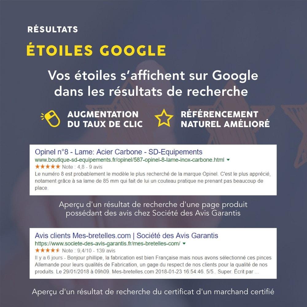 module - Avis clients - Avis client - Société des Avis Garantis - 17