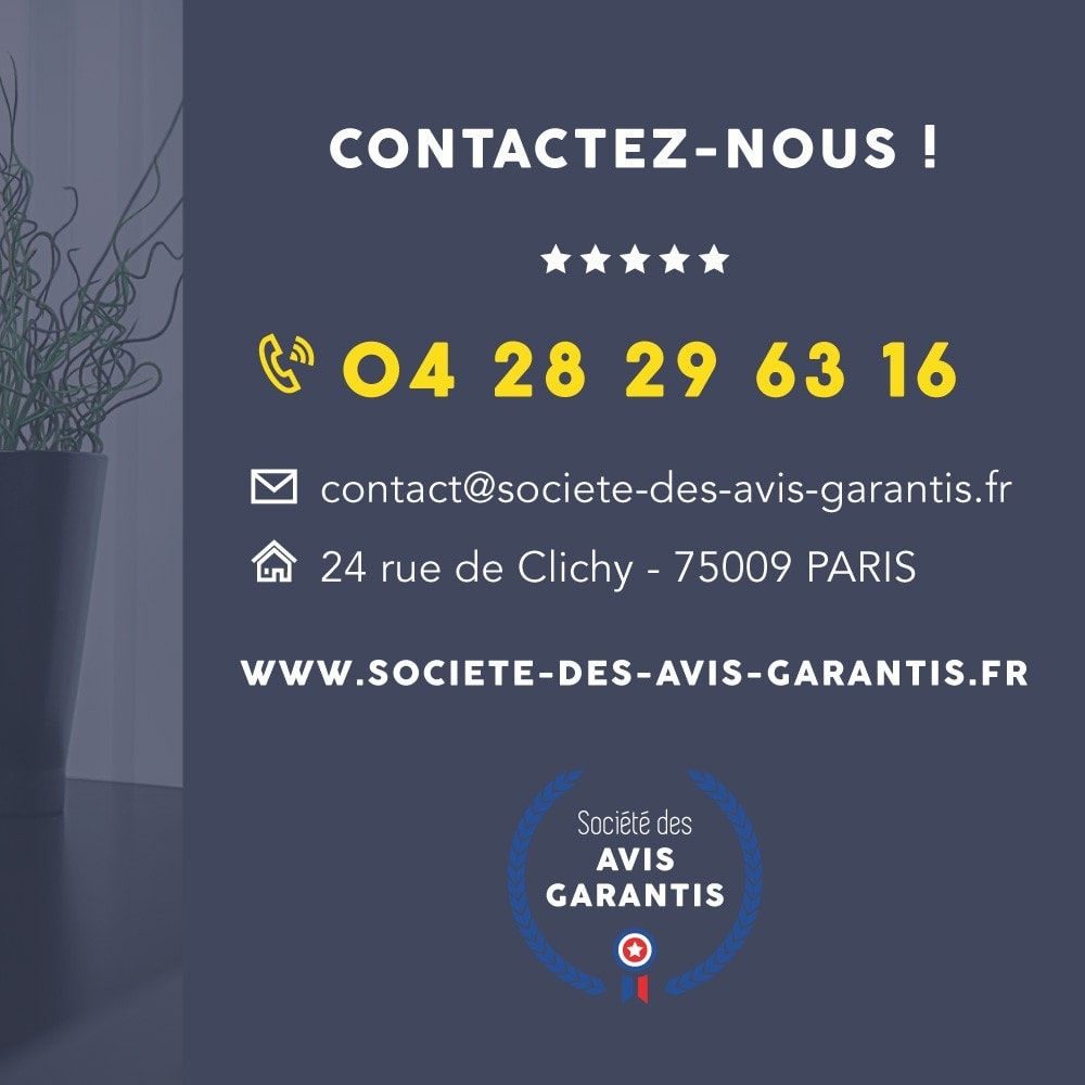 module - Avis clients - Avis client - Société des Avis Garantis - 24