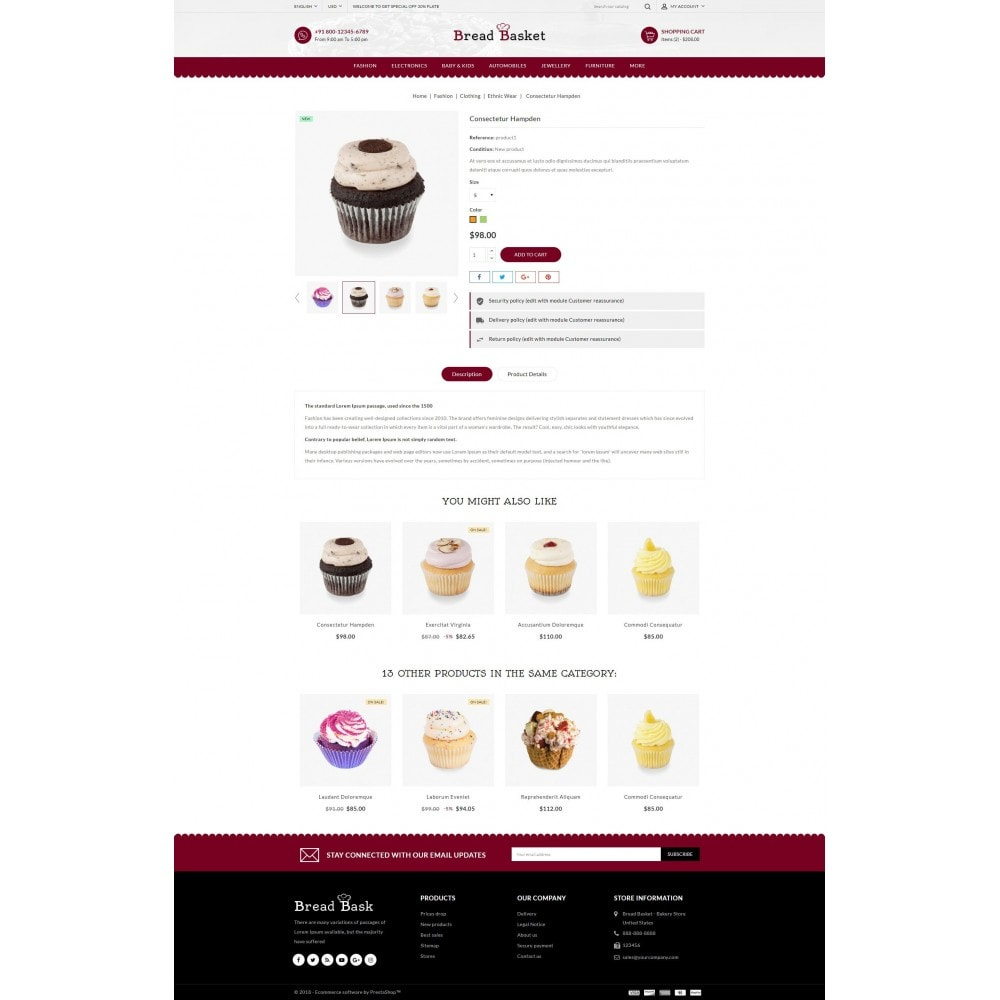 theme - Lebensmittel & Restaurants - Bread Basket - Bakery Shop - 5