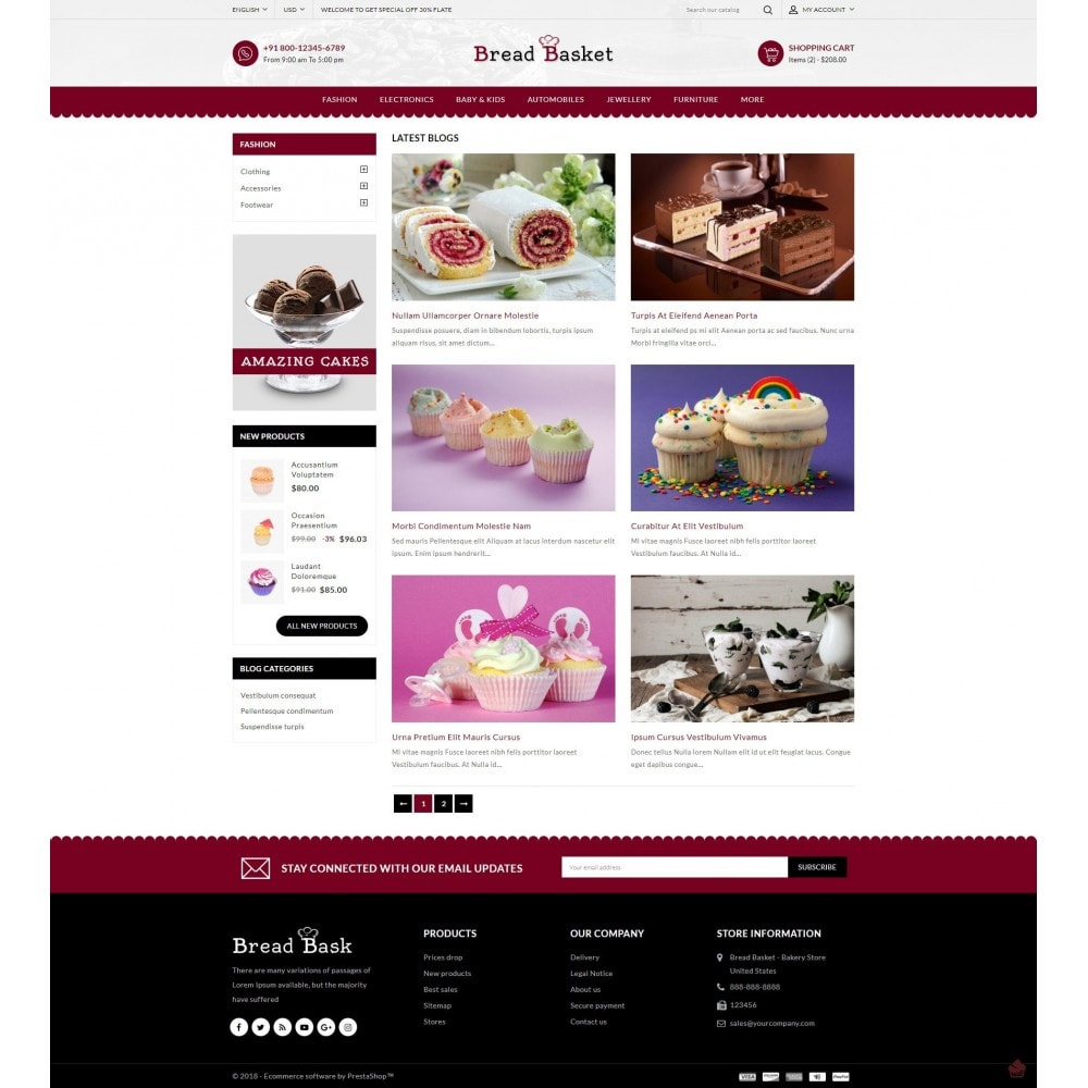 theme - Lebensmittel & Restaurants - Bread Basket - Bakery Shop - 10