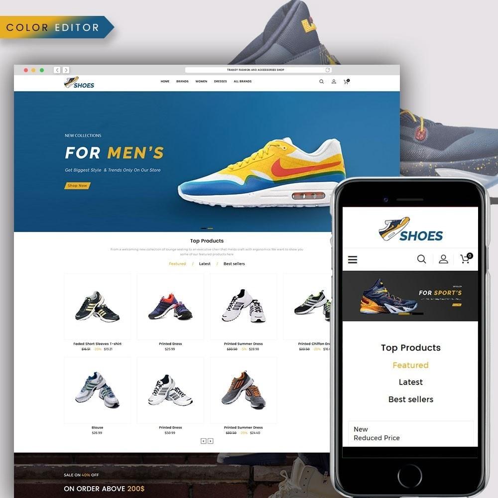 theme - Moda & Calzature - Shoes Store - 1