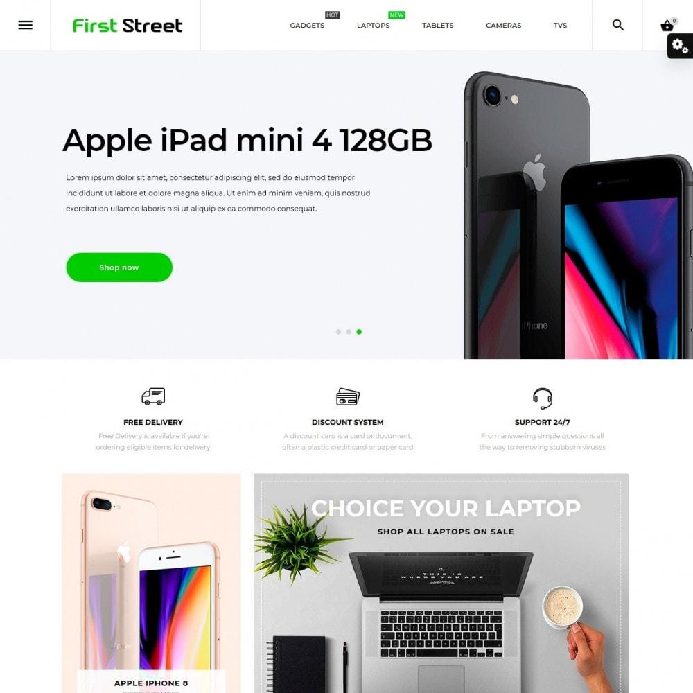 First Street - High-tech Shop