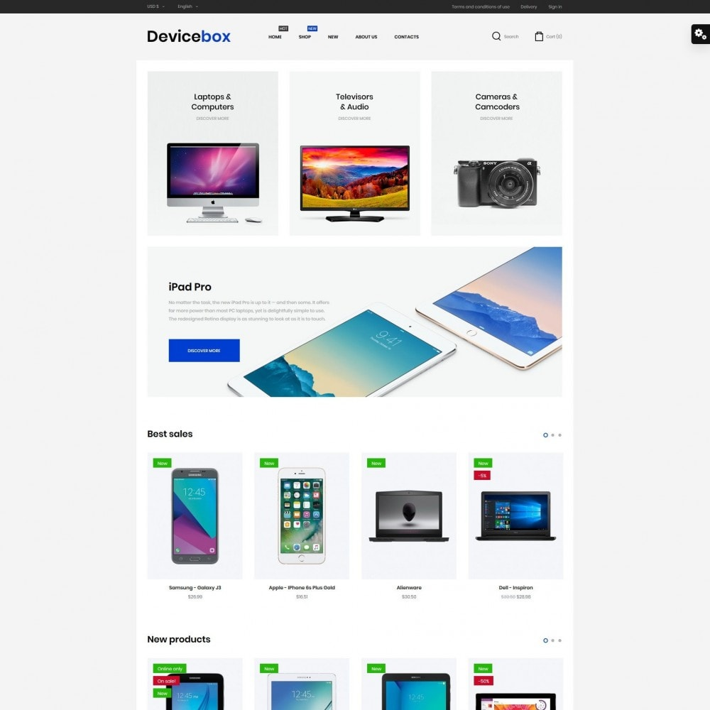theme - Electronics & Computers - Devicebox - High-tech Shop - 2