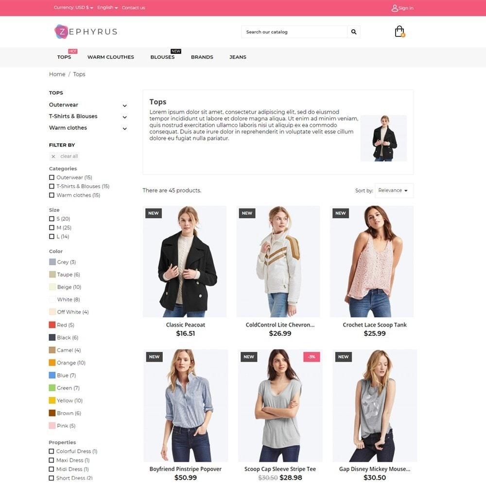 theme - Fashion & Shoes - Zephyrus Fashion Store - 5