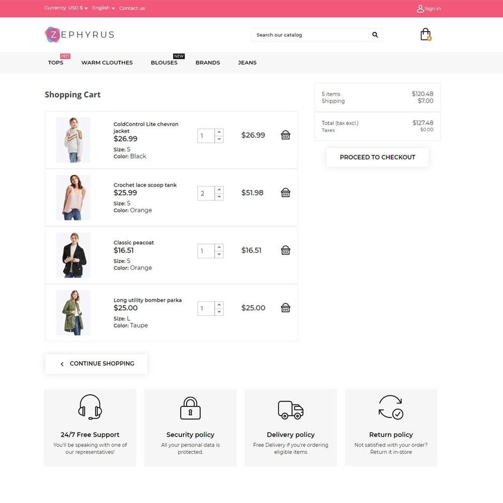theme - Fashion & Shoes - Zephyrus Fashion Store - 6