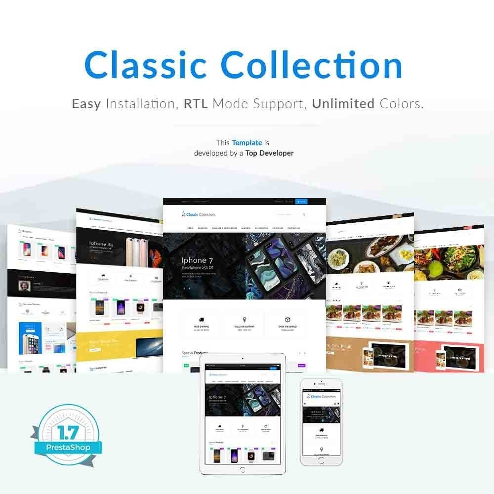 theme - Eletrônicos & High Tech - Classic Collection Pro - 1