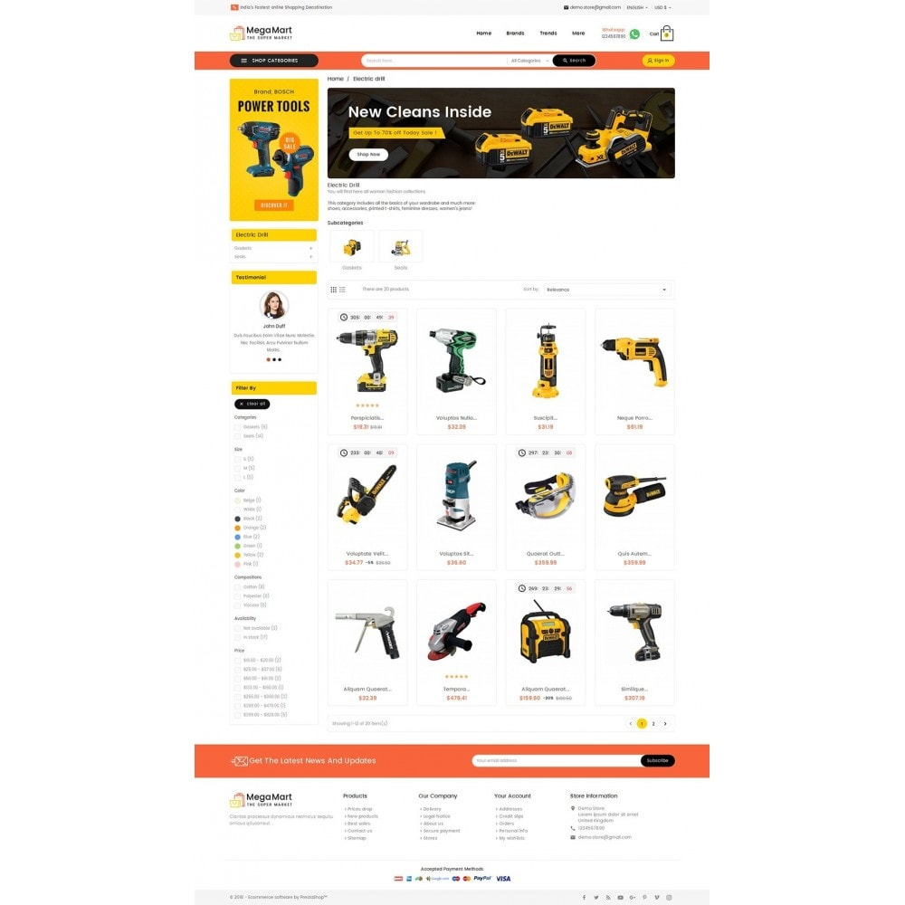 theme - Elettronica & High Tech - Mega Mart Tools Equipment - 3