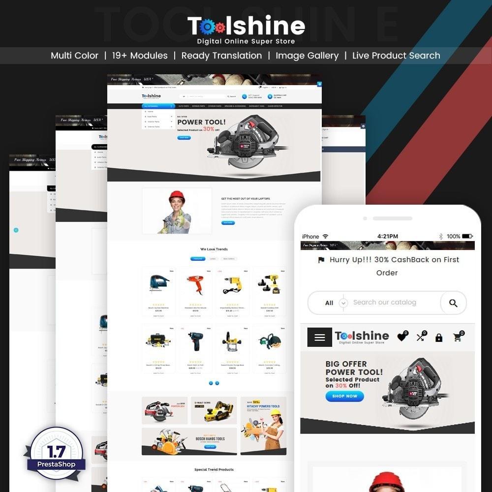 ToolShine – Tool Super Store v2