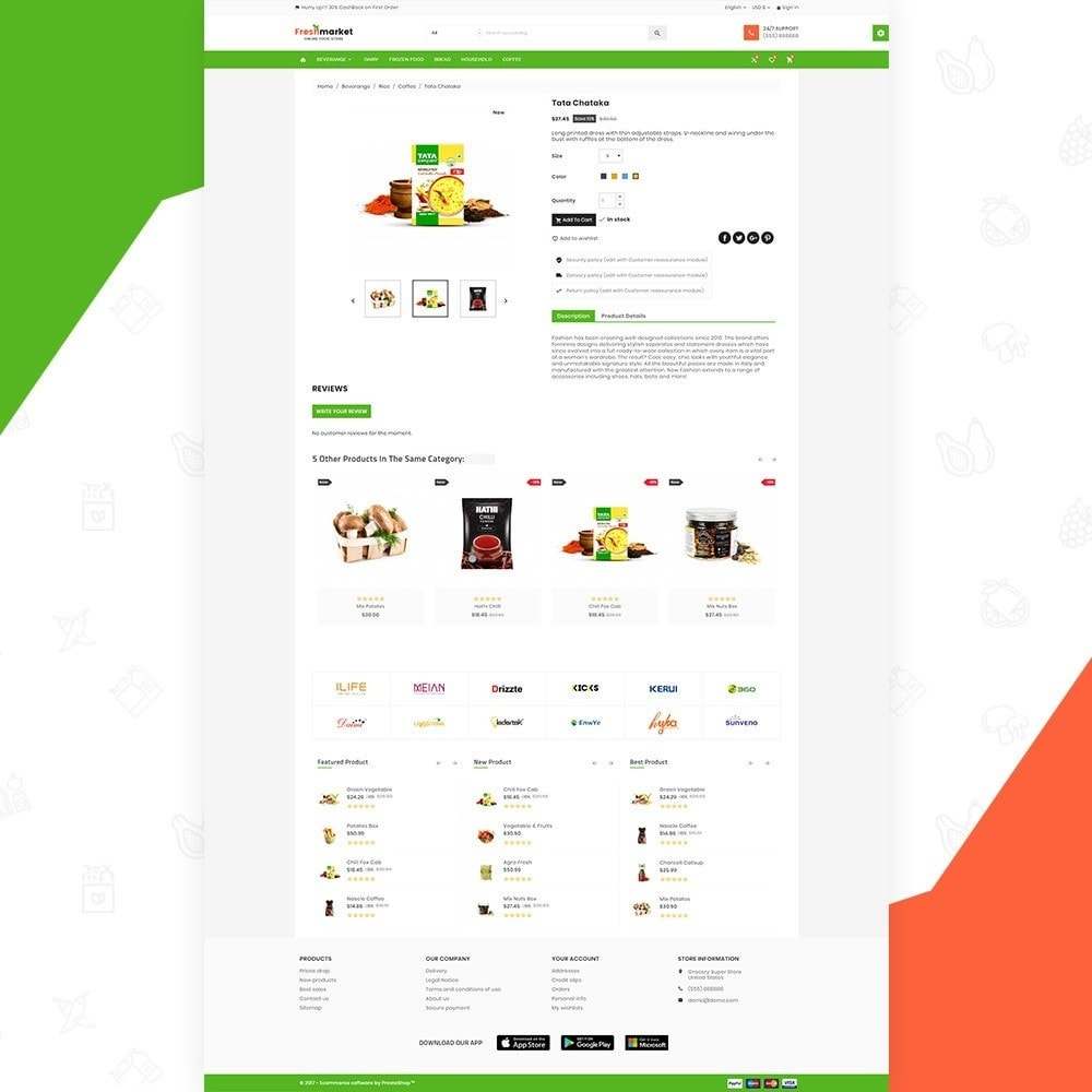 theme - Lebensmittel & Restaurants - Fresh Market – Food Super Store v3 - 5