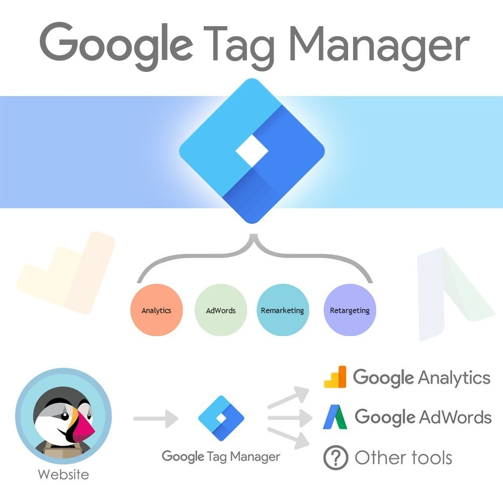 module - Análises & Estatísticas - Google Tag Manager Integration - 1