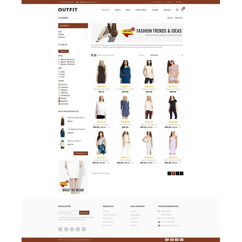 theme - Mode & Chaussures - Outfit Fashion Store - 3
