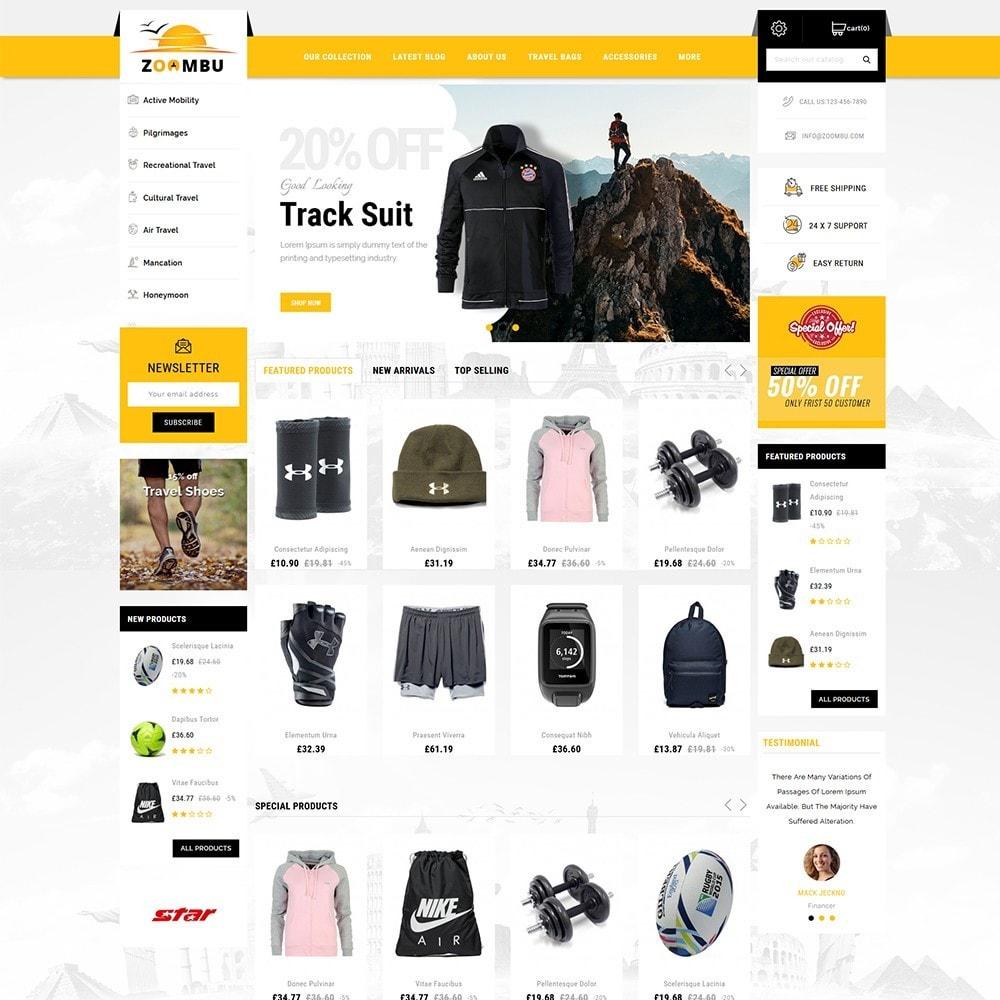 theme - Sport, Activiteiten & Reizen - Zoombu Travel Store - 2