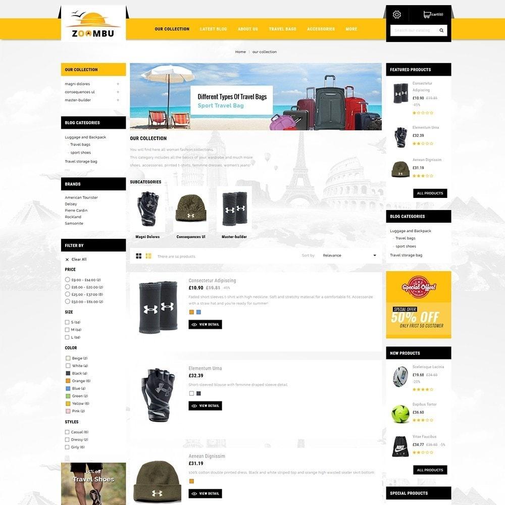 theme - Sport, Loisirs & Voyage - Zoombu Travel Store - 6