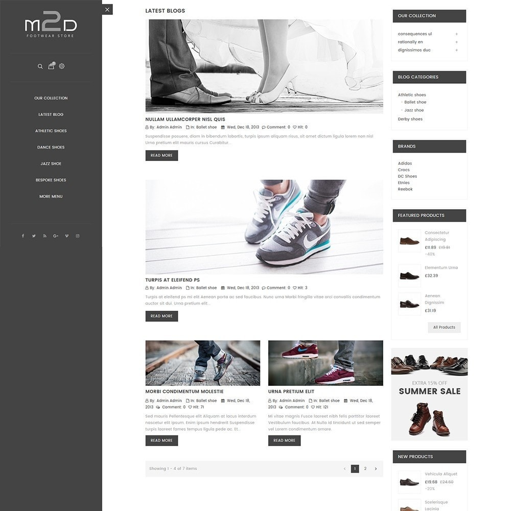 theme - Moda & Calzature - M2D Footwear - 8