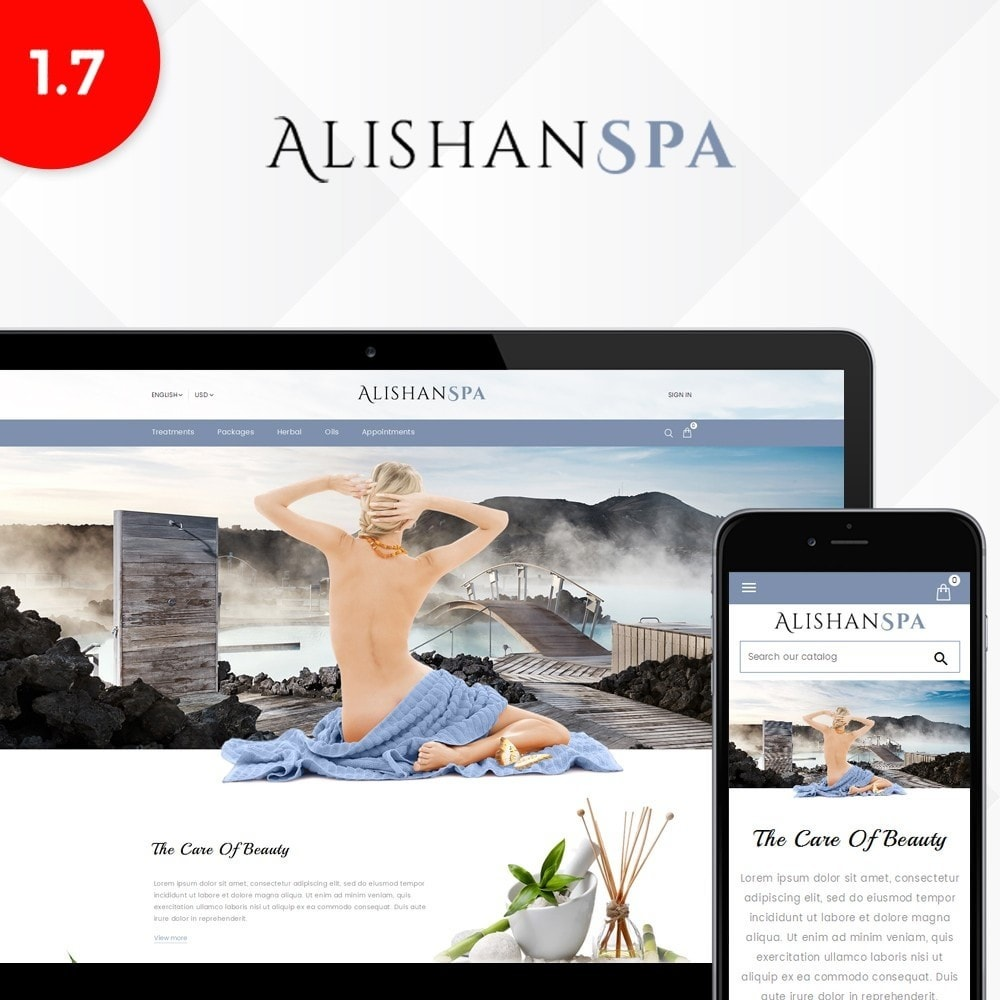 theme - Health & Beauty - Alishan Spa Store - 1