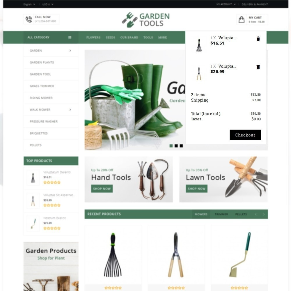 theme - Dom & Ogród - Garden Tools Store - 8