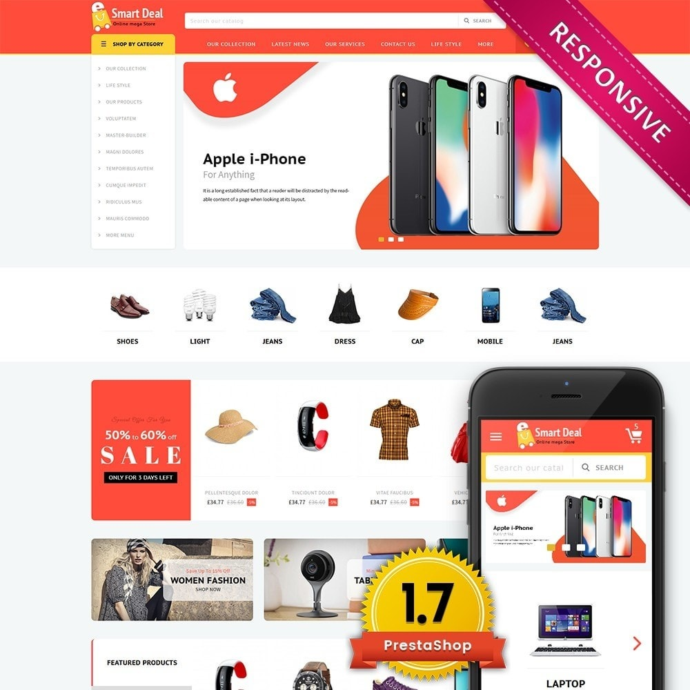 theme - Elettronica & High Tech - Smartdeal Mega Store - 1