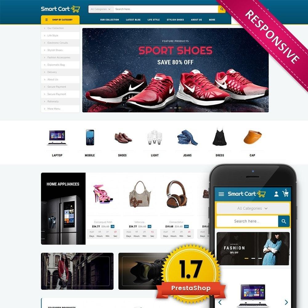 theme - Moda & Calzature - Smartcart Mega Store - 1