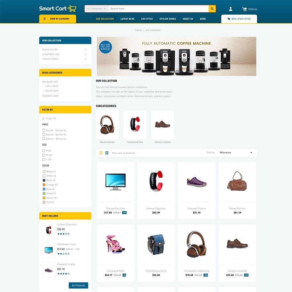 theme - Moda & Calzature - Smartcart Mega Store - 4