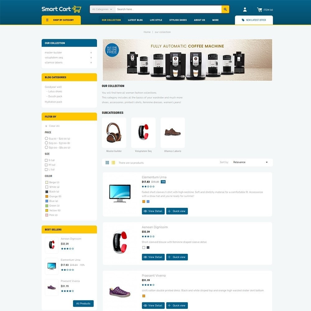 theme - Mode & Chaussures - Smartcart Mega Store - 5