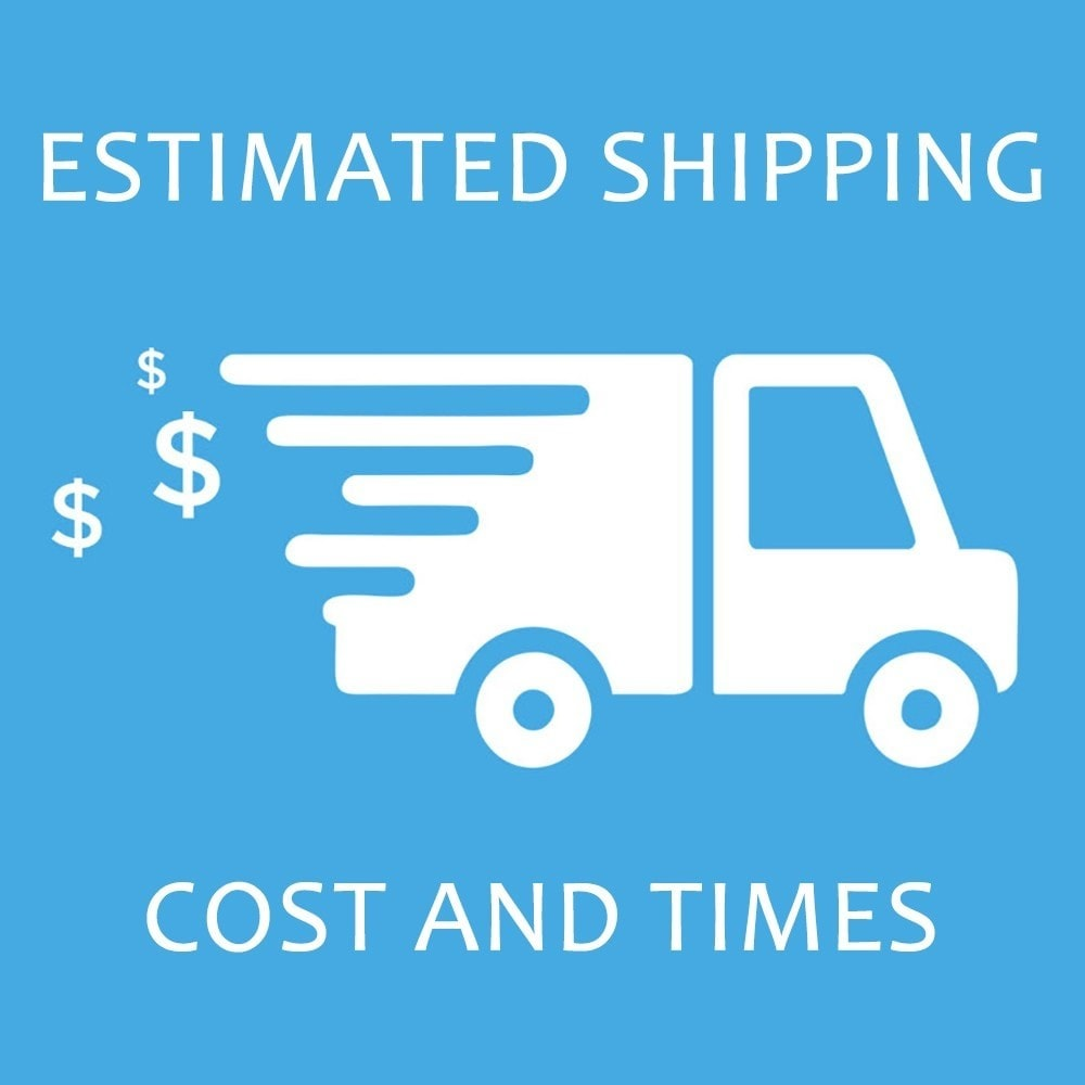 module - Delivery Date - Estimated Shipping Costs and Times - 1
