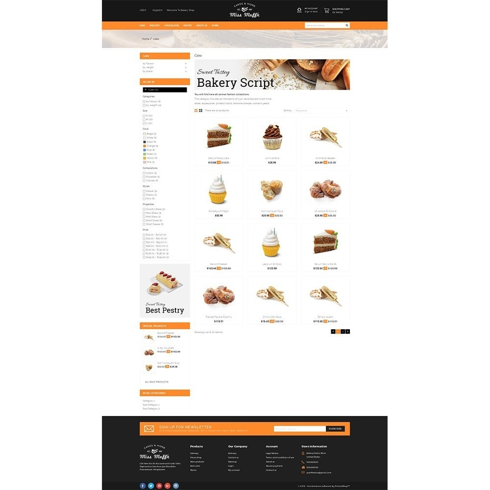 theme - Alimentation & Restauration - Bakery Store - 3