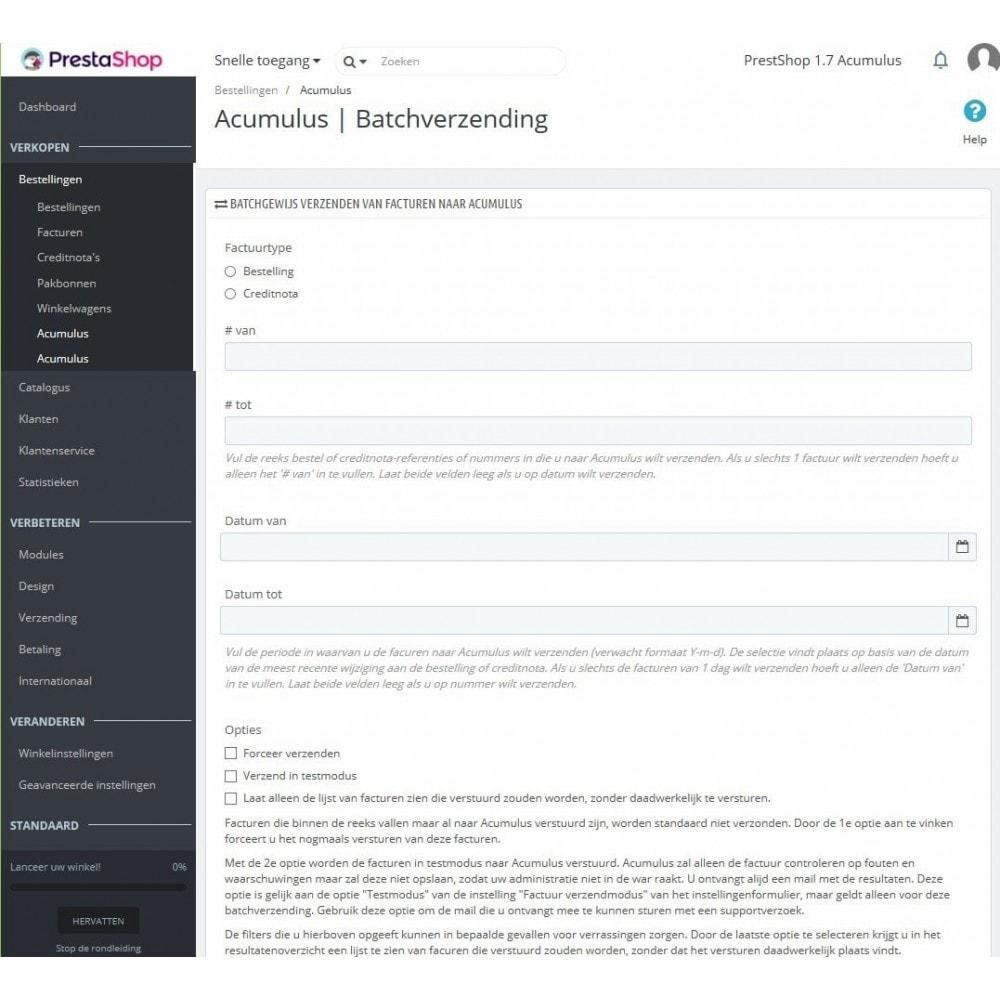 module - Boekhouding en fakturatie - Acumulus - 3
