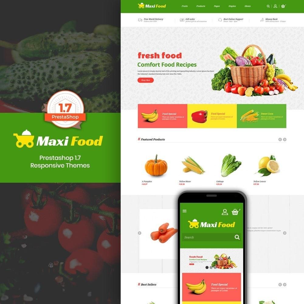 theme - Żywność & Restauracje - Maxi Food Store - 1