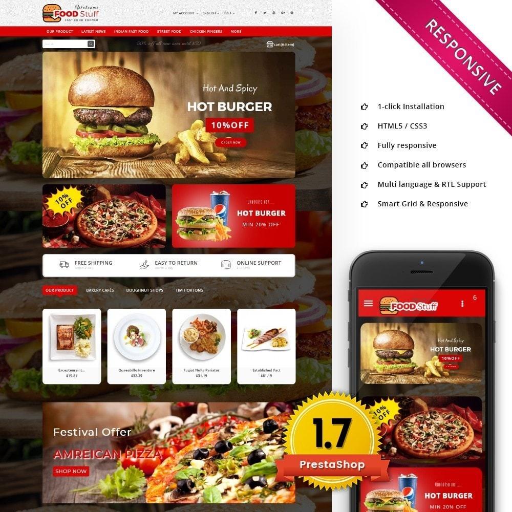 theme - Cibo & Ristorazione - Foodstuff Restaurant - 1