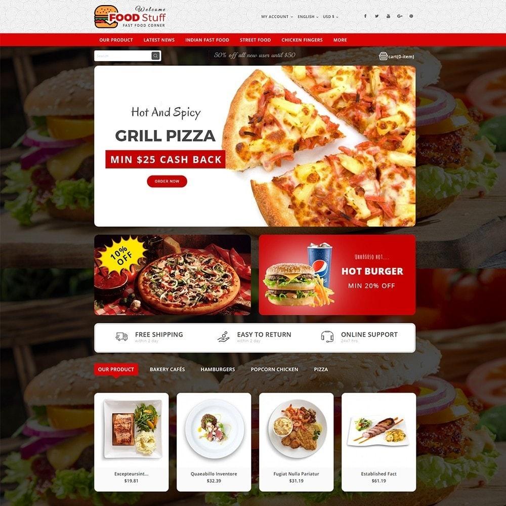 theme - Gastronomía y Restauración - Foodstuff Restaurant - 2
